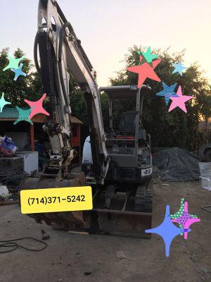 Mini excavator/ dump truck for Sale in La Habra, CA