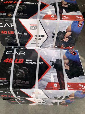 Dumbbells set. 40lbs adjustable. Brand new. One box left for Sale in Phoenix, AZ