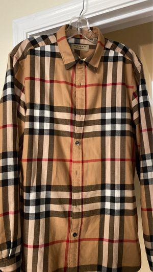 Burberry flannel for Sale in Phoenix, AZ