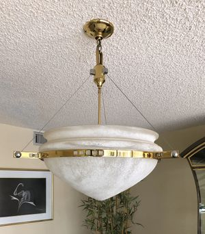 Alabaster Hanging Lamp for Sale in Miami, FL