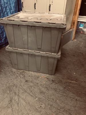 Heavy duty storage plastic bin for Sale in Washington, DC