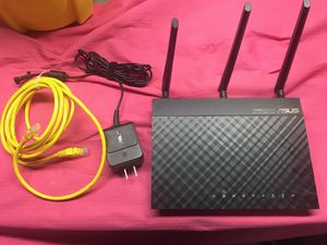 ASUS RT-AC664U wireless router WIFI DUAL BAND 3x3 802.11AC gigabit for Sale in SeaTac, WA