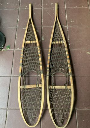 Pair of antique snowshoes for Sale in Portland, OR