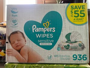 Pampers wipes for Sale in Silver Spring, MD