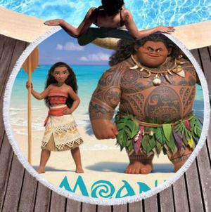 Moana Beach Towels for Family Fun for Sale in Tampa, FL