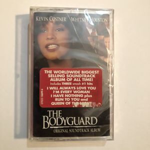 Whitney Huston The Bodyguard Origin soundtrack - Cassette Tape for Sale in Grand Terrace, CA