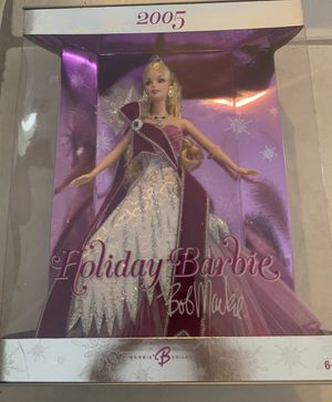 2005 Holiday Barbie by Bob Mackie for Sale in Port Charlotte, FL