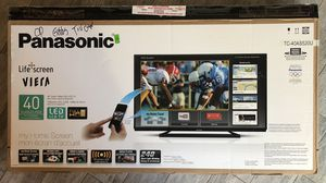 "Panasonic 40"" 1080p LED Smart TV for Sale in Virginia Beach, VA"
