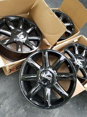 "20"" gmc Yukon Denali black stock wheels rims BRAND NEW!! for Sale in Bolingbrook, IL"
