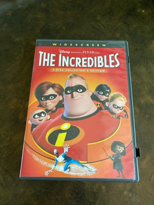 The Incredibles widescreen dvd for Sale in Aurora, CO