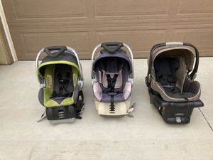 Baby Car Seats with Bases for Sale in Fontana, CA