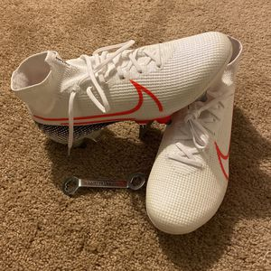 8.5 Nike Mercurial Superfly 7 Elite Sg Pro Soccer Cleats Df for Sale in Chesapeake, VA