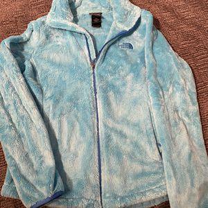 Women's Blue North Face Fleece, Medium for Sale in Placerville, CO
