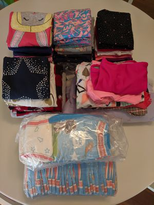 Girls clothes and pull ups 2-4 years for Sale in Roswell, GA