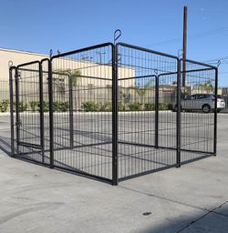 """New 48"""" Tall x 32"""" Wide Panel Heavy Duty 8 Panels Dog Playpen Pet Safety Fence gate valla Para perros (tarp not included) for Sale in South El Monte,  CA"""