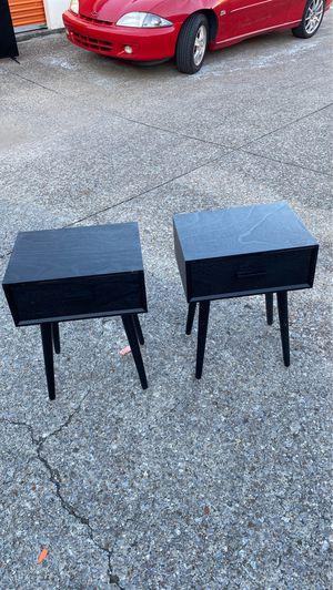 MODERN NIGHTSTAND $40 each for Sale in Nashville, TN
