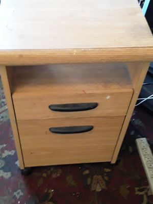 Small filing cabinet on wheels for Sale in DORCHESTR CTR, MA