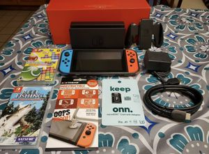 Nintendo Switch Super Bundle (unpatched/hackable)128gb MicroSDcard Games & More! for Sale in Brooklyn, NY