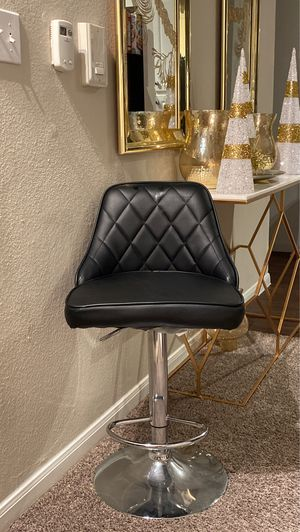 Black swivel and adjustable Bar stool for Sale in Dallas, TX
