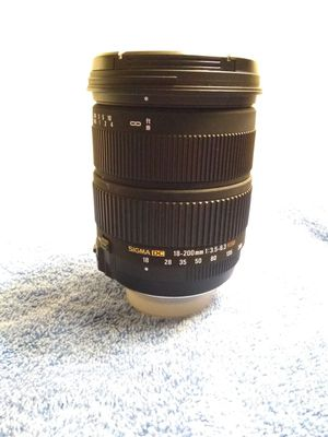 Brand new made in Japan sigma Nikon lenses Nikkor for Sale in San Jose, CA