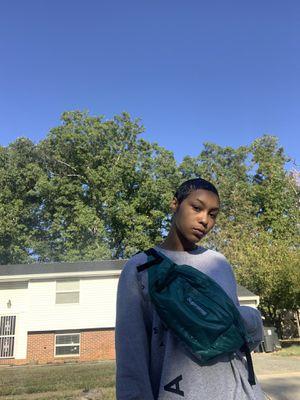 SS18 Dark Teal Supreme Waist Bag for Sale in NEW CARROLLTN, MD