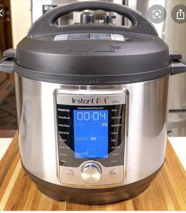 Instant Pot Ultra- 10 in 1- 6 quart