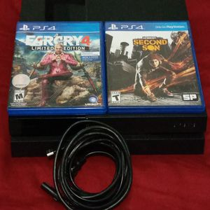 PS4 w/ FARCRY 4 & INFAMOUS SECOND SON Games for Sale in Hialeah, FL