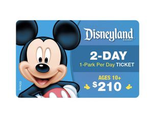 2 days Disney pass for cheap for Sale in Orlando, FL