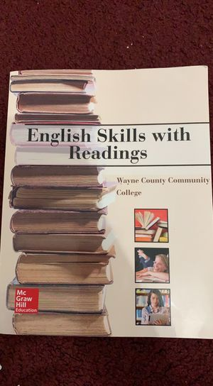 English 115 book 4 sale its only $45 for Sale in Detroit, MI