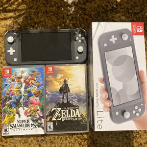 NINTENDO SWITCH LITE BUNDLE! for Sale in Miami, FL