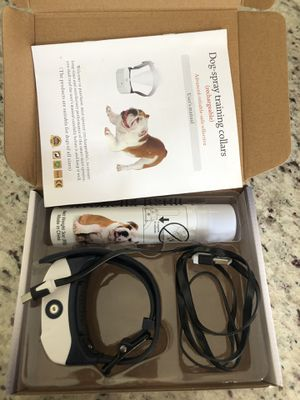 Dog Spray Training Collar for Sale in Coral Gables, FL