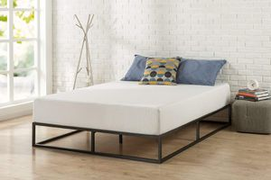 "New QUEEN size platform bed frame $65 or $225 with 12"" Mattress Queen size for Sale in Columbus, OH"