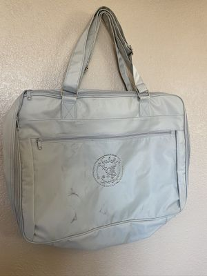 Vintage silver Falchi Sport messenger Bag for Sale in Los Angeles, CA