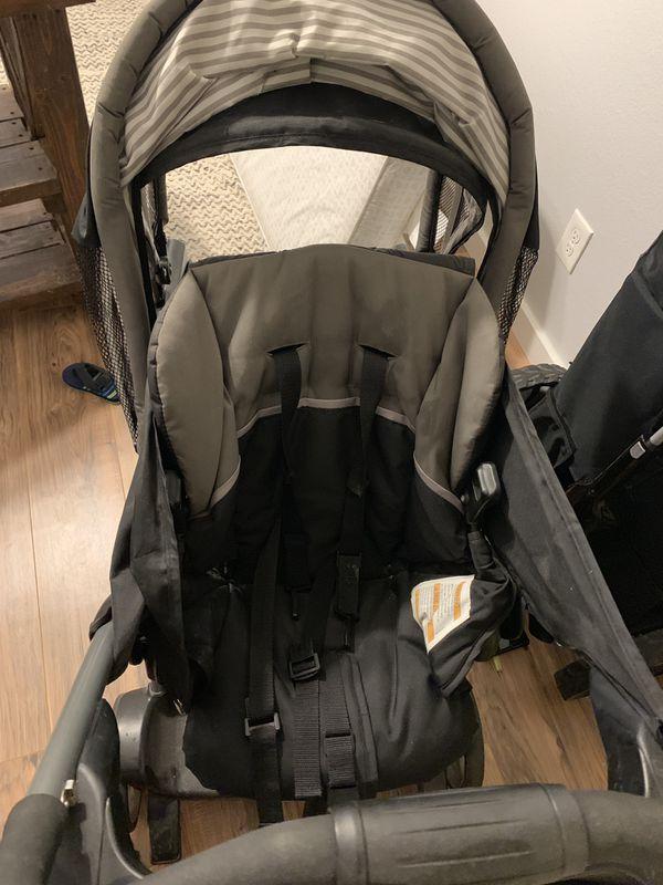 Graco ready 2 grow double stroller