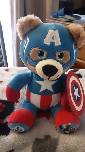 Build a Bear Captain America for Sale in Colton, CA