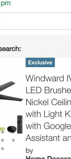 Home Decorators Windward Ceiling Fan for Sale in La Mirada,  CA