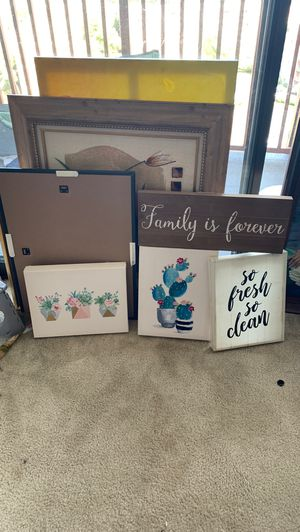Home decor frames for Sale in VA, US