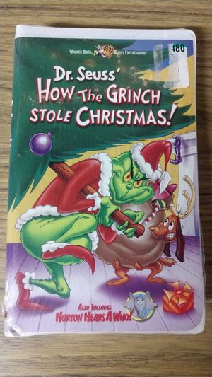 Dr. Seuss' How The Grinch Stole Christmas VHS New for Sale in San Diego, CA