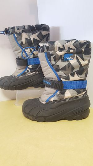 SOREL Snow Boots Youth Flurry NY2655 Size 3 for Sale in Boulder, CO