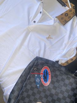 Louis Vuitton Shirt & Messenger Bag for Sale in Washington,  DC