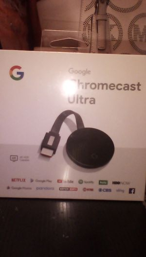 Chromecast Ultra new In unopened box for Sale in Tracy, CA
