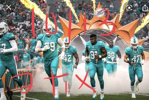 2 tix and sideline passes for today's game 10/13 for Sale in Fort Lauderdale, FL