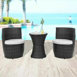 SHIPPING ONLY 3 Piece Patio Furniture Set w/Chairs and Table for Outdoor Poolside Patio or Balcony for Sale in Las Vegas, NV