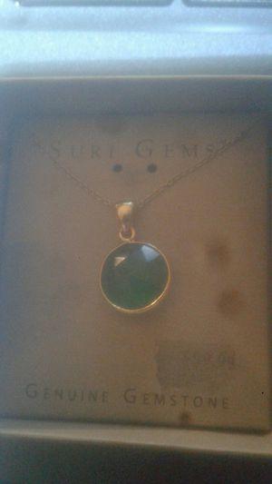 Suri Gems 18 k gold neckless for Sale in Birch River, WV
