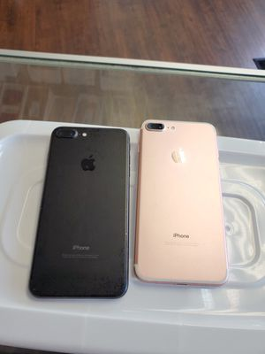 IPhone 7 plus 128gb unlocked each phone for Sale in Malden, MA