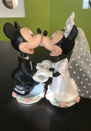 Mickey and Minnie Mouse Groom and Bride for Sale in Orlando, FL