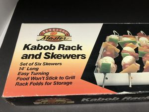Kabob Skewers and Rack for Sale in Long Beach, CA