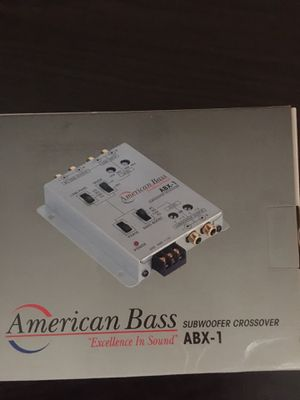 American bass crossover for Sale in Cleveland, OH