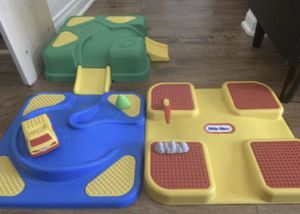Little Tikes Storage Container & Car play track for Sale in Anaheim, CA