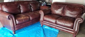Leather Sofa & Loveseat for Sale in Chicago, IL
